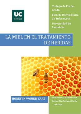 La Miel en el Tratamiento de Heridas
