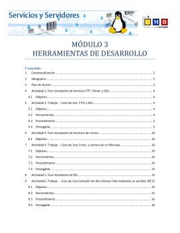 MÓDULO 3 HERRAMIENTAS DE DESARROLLO