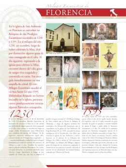 Milagro Eucaristico de Florencia, Italia, 1230-1595