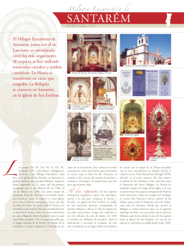 Milagro Eucaristico de Santarem, Portugal, 1247 (la Parte 1)