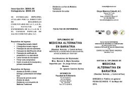 medicina alternativa medicina alternativa en bariatria en bariatria