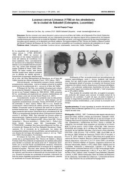 Descargar PDF - Sociedad Entomológica Aragonesa
