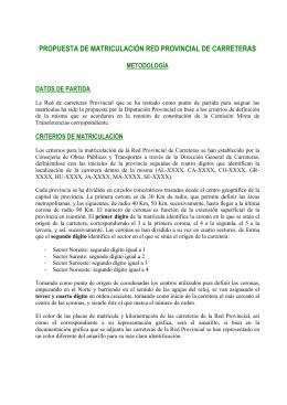 Red Provincial de Carreteras de Granada
