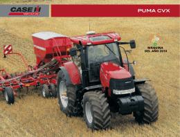 Tractores PUMA CVX