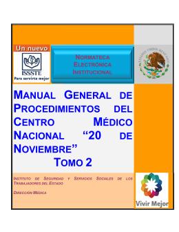 manual general de procedimientos del centro médico