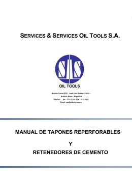 manual de tapones y retenedores s&s
