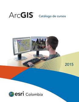 Catálogo Esri Colombia 2015