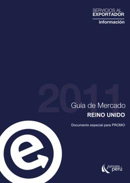Guía de Mercado REINO UNIDO