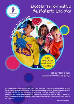 Listado material escolar - Asociación de Celiacos de Sevilla