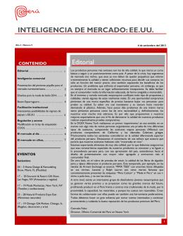 INTELIGENCIA DE MERCADO: EE.UU.