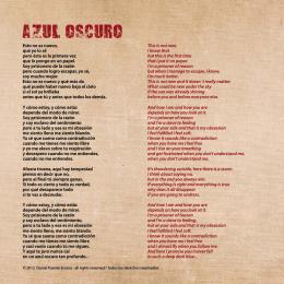 AZUL OSCURO - Daniel Puente Encina