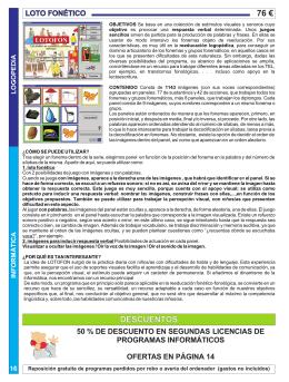 MHOJA 16 LOTO FONETICO.cdr - Aquari-Soft