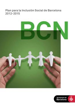 Plan para la Inclusión Social de Barcelona 2012-2015