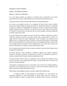 23.Textos Literarios I - Universidad del Conde