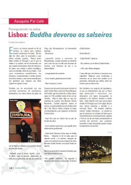 Lisboa: Buddha devorou os salseiros