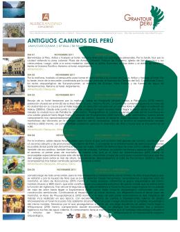 ANTIGUOS CAMINOS DEL PERÚ