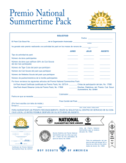 Premio National Summertime Pack