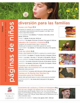 Kidspages Summer 2013 SPANISH.indd