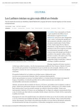 Les Luthiers inician su gira más difícil en Oviedo | Cultura | EL PAÍS