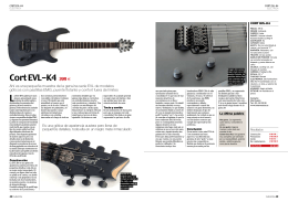 Cort EVL-K6 Guitarrista 156