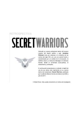 Secret Warriors - Freeware Ideológico sin Compromiso