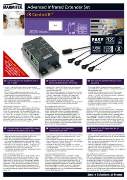 Marmitek IR Control 8 brochure