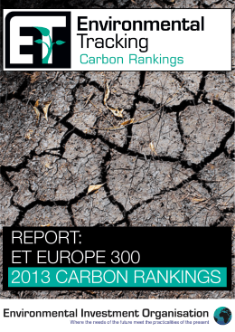 et europe 300 2013 carbon rankings