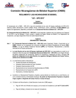 Reglamento U21