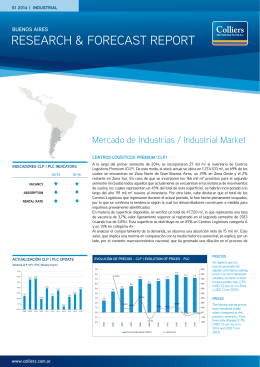 Reporte de Mercado - Industrias S1 2014