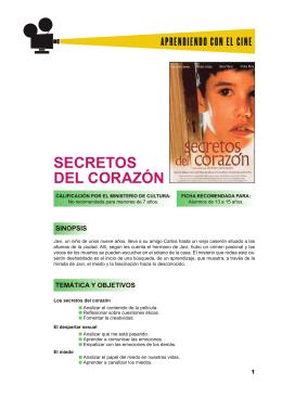 SECRETOS DEL CORAZÓN - Aprendiendo con el cine europeo
