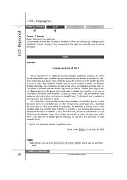 LV2 - L`espagnol en classes préparatoires. HISPACPGE.COM