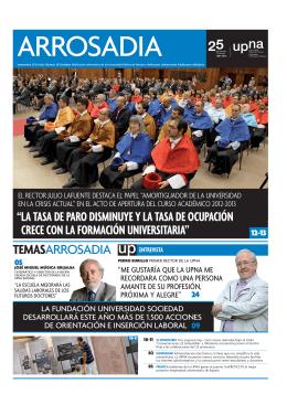 Septiembre - Universidad Pública de Navarra
