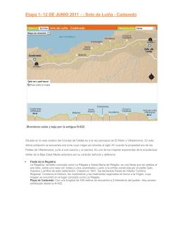 Etapa 1- 12 DE JUNIO 2011 - : Soto de Luiña