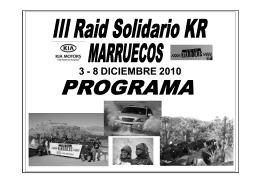 Presentación Programa III Raid Solidario KR Marruecos.ppt