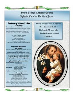 Saint Joseph Catholic Church Iglesia Catolica De San Jose