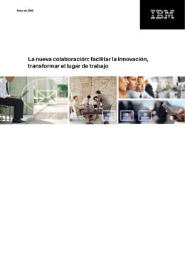 La nueva colaboración: facilitar la innovación, transformar