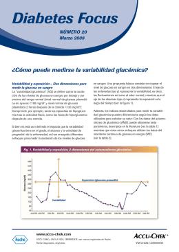 2-Cómo puede medirse la variabilidad glucémica - Accu-Chek