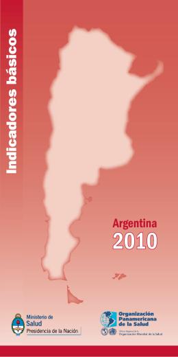 Indicadores 2010 - Ministerio de Salud