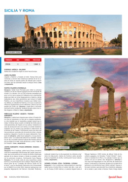 SICILIA Y ROMA