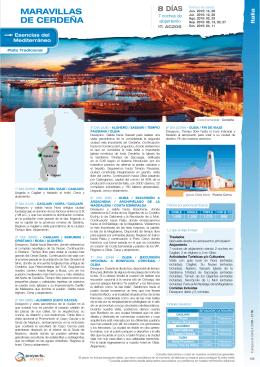 105 - Maravillas de Cerdeña (Cagliari – Olbia)
