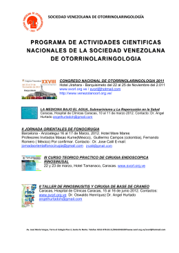 programa de actividades cientificas nacionales de la sociedad
