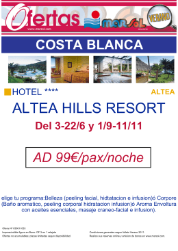 ALTEA HILLS RESORT
