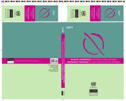Anuario estadístico de América Latina y el Caribe / Statistical