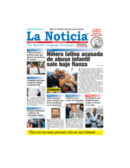Niñera latina acusada de abuso infantil sale bajo fianza Patricia Ortiz