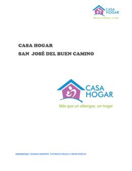 CASA HOGAR SAN JOSÉ DEL BUEN CAMINO