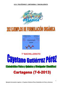202 Ejemplos de formulación y nomenclatura de orgánica (7-6-13)