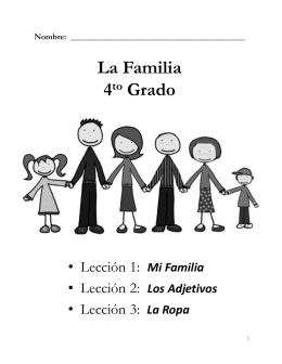 La Familia 4 Grado