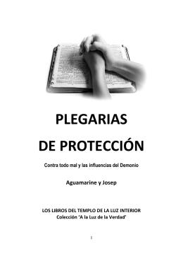 PLEGARIAS DE PROTECCIÓN