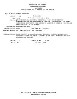 Decreto Ejecutivo 352