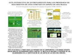 Guía interactiva de entrenamiento para los